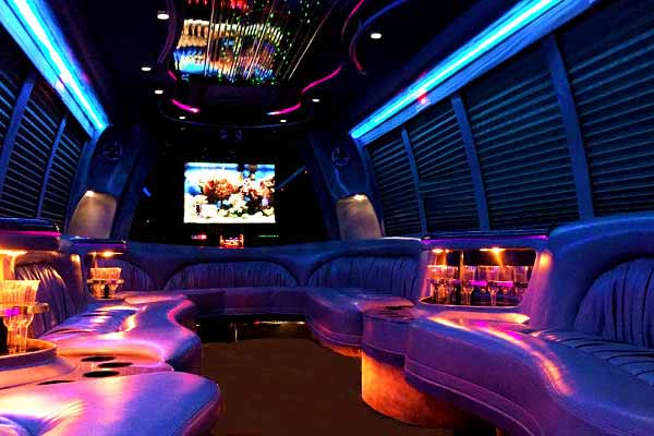 18 Passenger Party Bus Rental Laredo