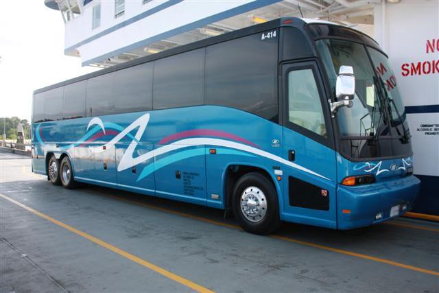 Laredo 50 Passenger Charter Bus